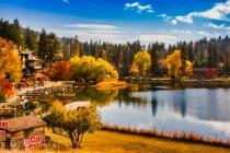Swan River in Big Fork, Montana