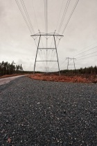 Road To The Power Lines