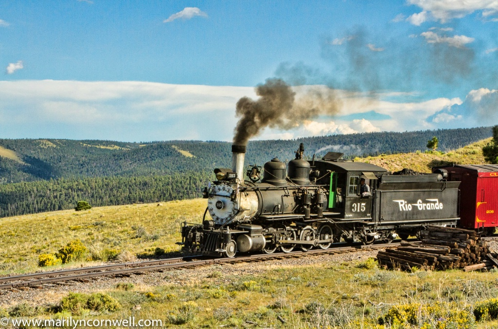 Cumbres and Toltec Steam  I - ID: 15643506 © Marilyn Cornwell