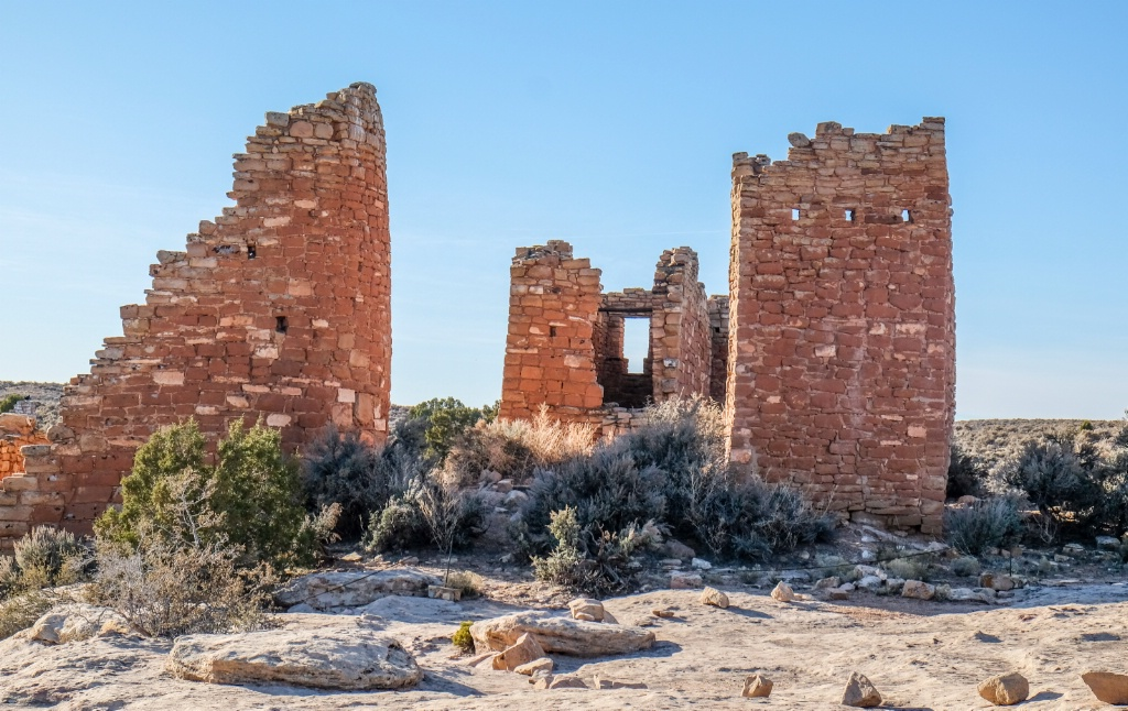 Towers at Hovenweep  - ID: 15644609 © Nancy Auestad