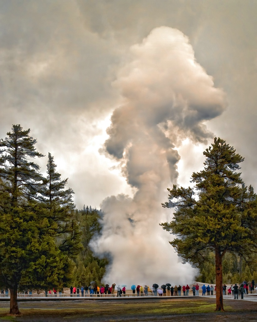 Old Faithful - ID: 15645536 © Susan Johnson