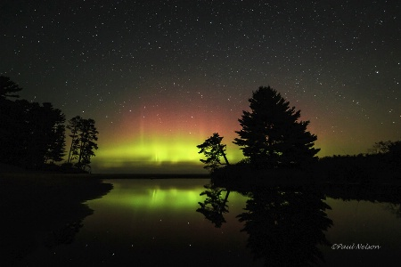 The Aurora and the Big Dipper