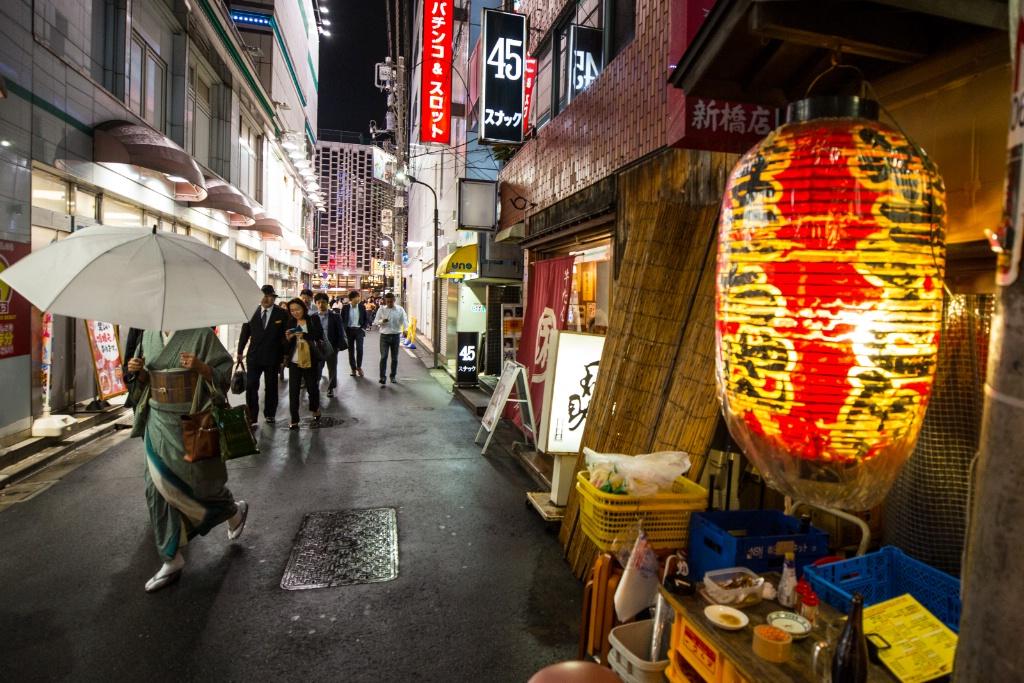 Shimbashi Nighttime
