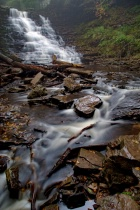 At Ricketts Glen State Park