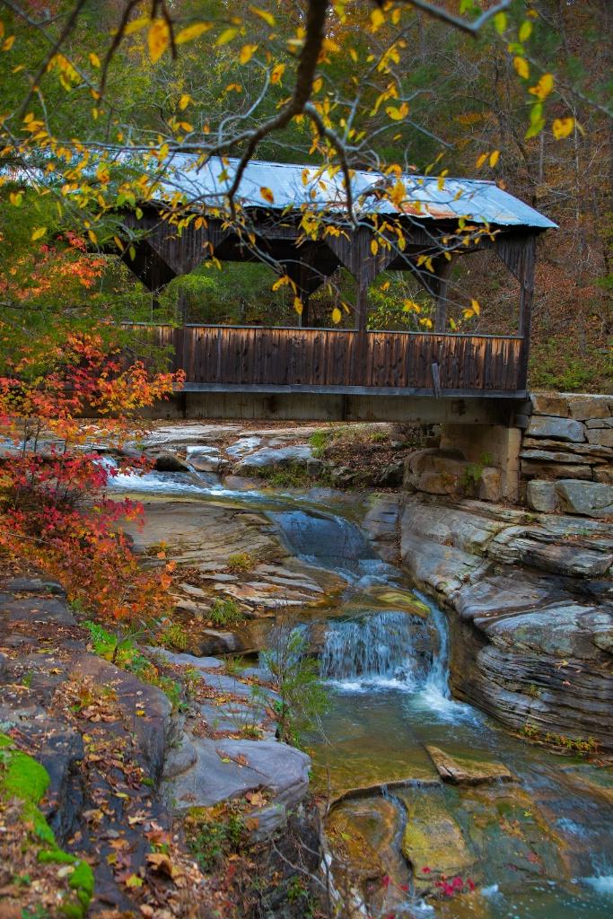 "Covered Bridge ""Ponca Arkansas""  - ID: 15651319 © Chuck Bruton"