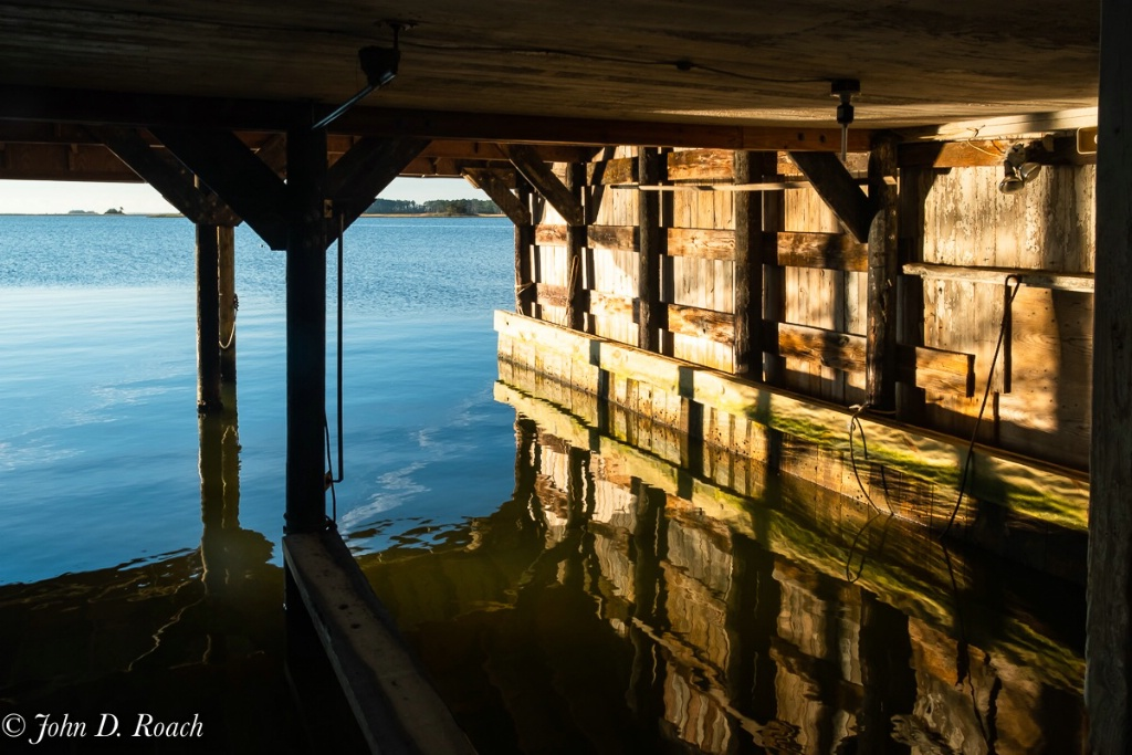 Boat House in early morning light - ID: 15653345 © John D. Roach
