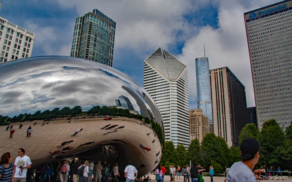 Have you Bean to Chicago?