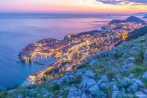 Overlooking Dubrovnik, Croatia