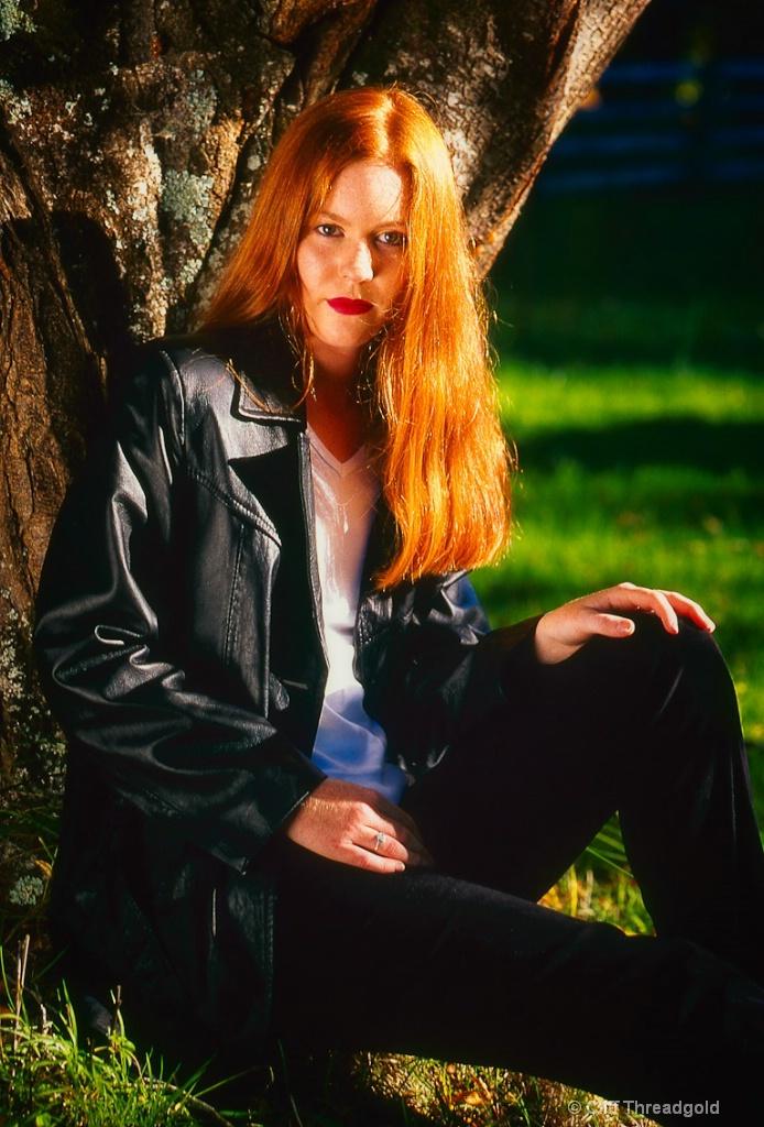 Red Hair Portrait