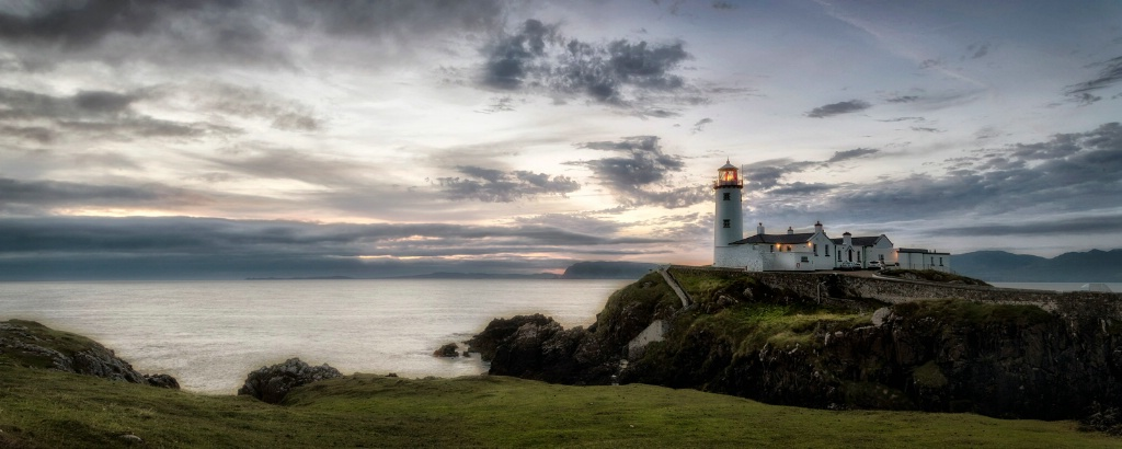 Fanad Lighthouse Panorama - ID: 15657892 © Danny B. Head