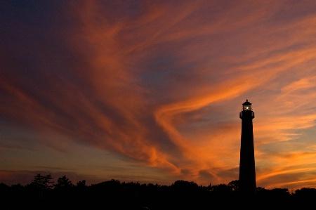 Lighthouse Sunset III