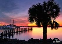 St. Andrews Marina Sunset