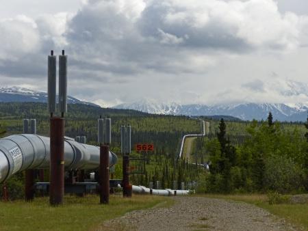 Trans - Alaska Pipeline.