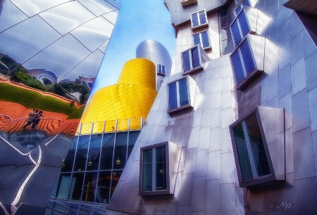 Contrasts of Frank Gehry