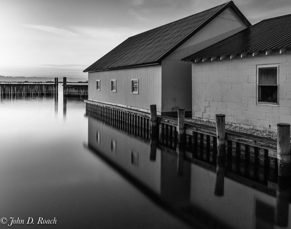 Boat Houses at Taylor Landing - ID: 15661945 © John D. Roach