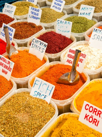 Turkish Spice Market