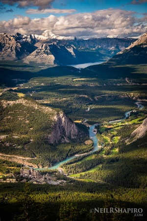 Banff from the Eagles Nest