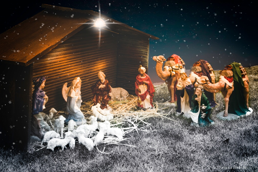 Family Legacy - The Nativity  - ID: 15669322 © Theresa Beehler