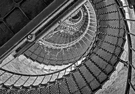 Currituck Lighthouse Staircase