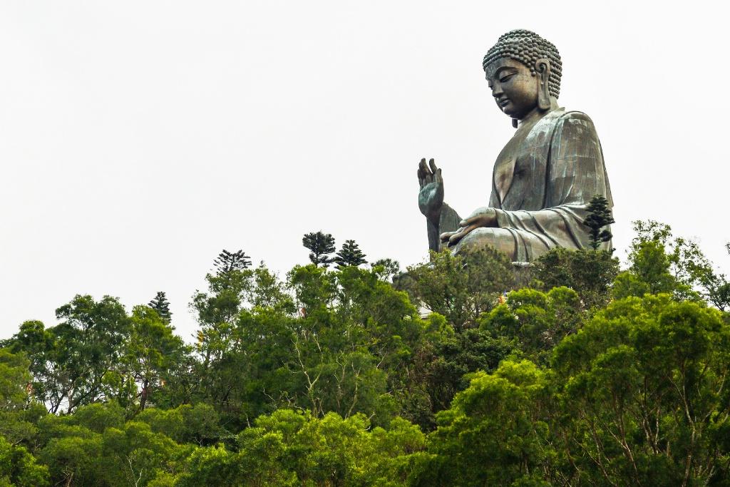 Big buddha in HK