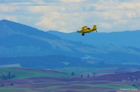 Over the Palouse