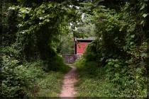 the Covered Bridge Pathway