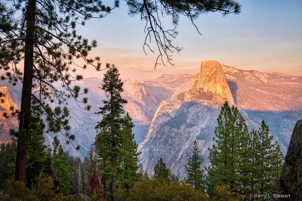 Half Dome Evening - ID: 15673561 © Kerry L. Stewart