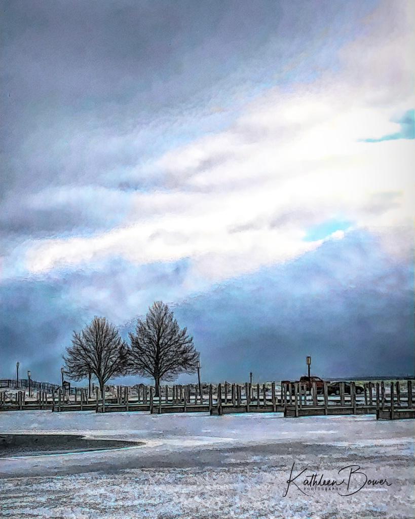 Winter Alpena Harbor