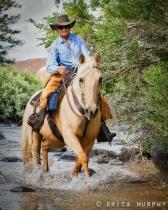 Wyoming Horsewoman