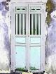 Pastel doorway