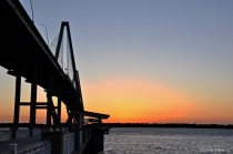 Sunset at the Ravenel