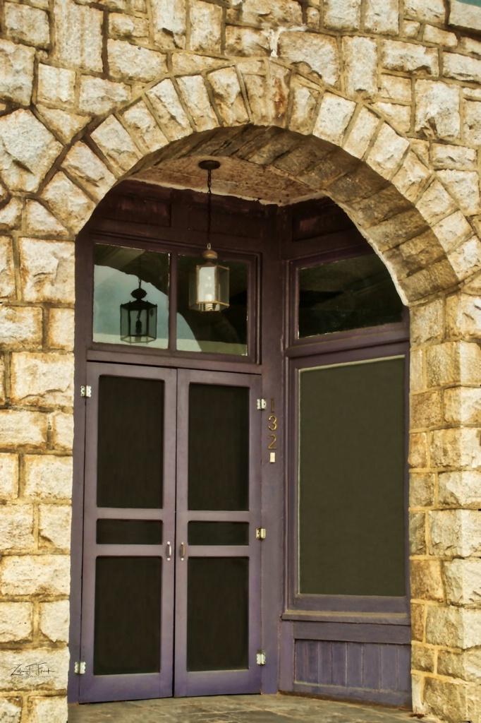 Front of Granite Building - medium dark window - ID: 15677223 © Zelia F. Frick
