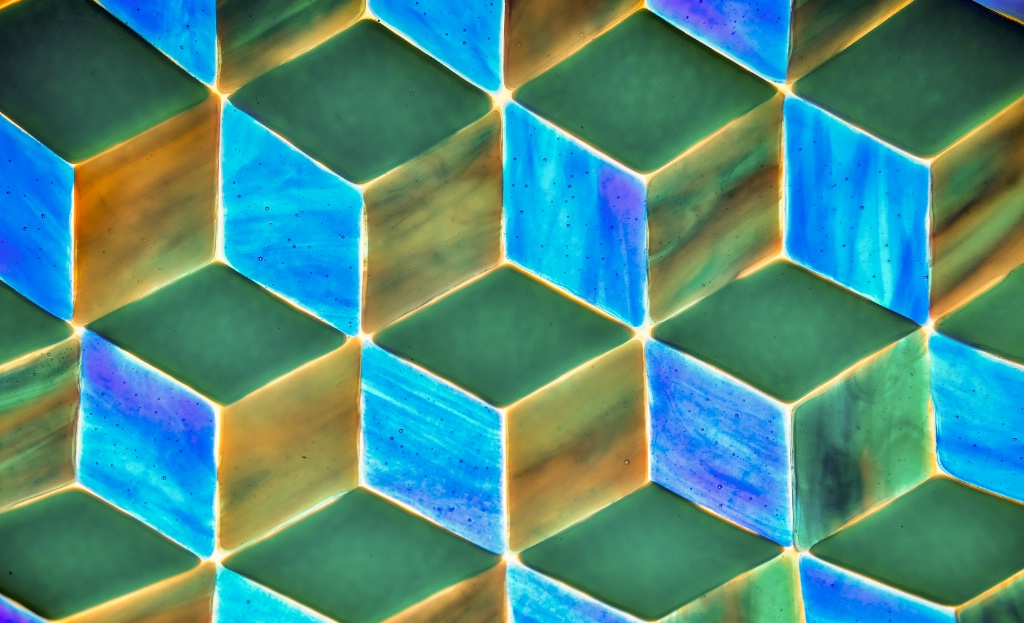 fused glass art - ID: 15677929 © Nancy Auestad