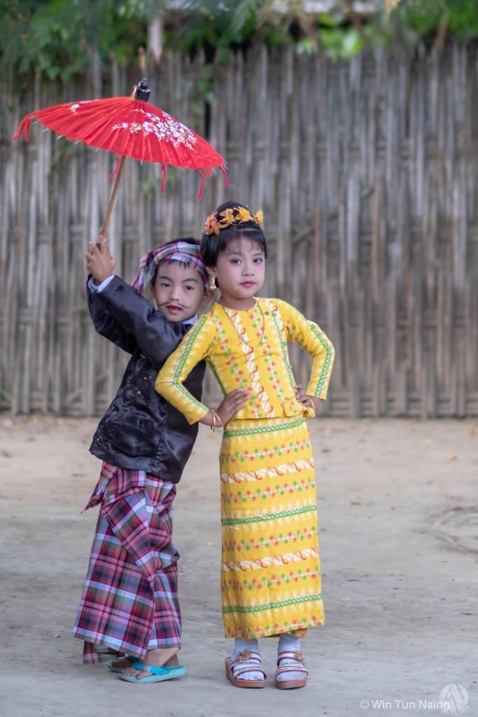 U Shwe Yoe and Daw Moe
