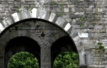 Arches in Como, Italy