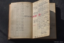 Grand Pa's flight log book