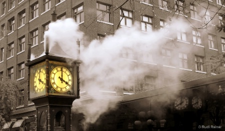 Old Gastown steamclock, Vancouver BC