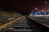 Railroad Tracks To The Horizon