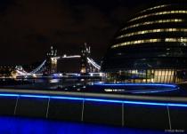 London city lights