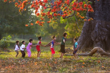 Love the children Love the nature