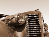 Old Buick headlights
