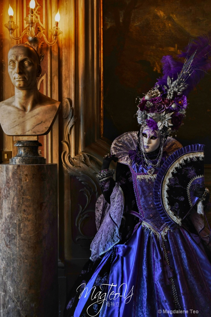Carnevale di Venezia 2019 - Solo Series 1  - ID: 15695403 © Magdalene Teo