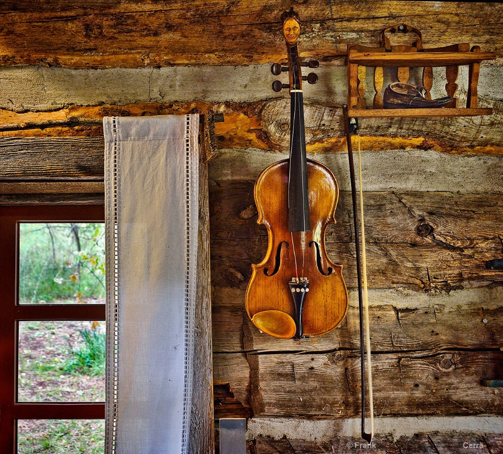 Fiddle on the Wall-Frank Cerra