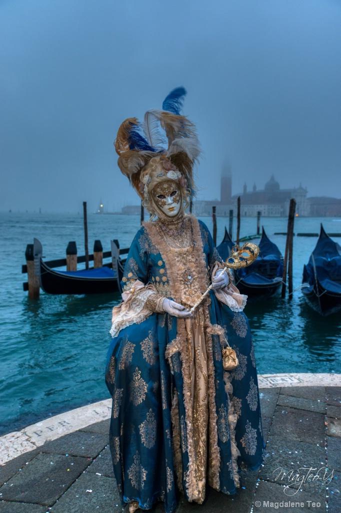 Carnevale di Venezia 2019 - Blue Series 1 - ID: 15696484 © Magdalene Teo