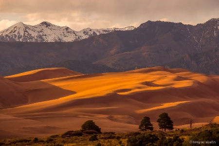 Great Sand Dunes in Winter