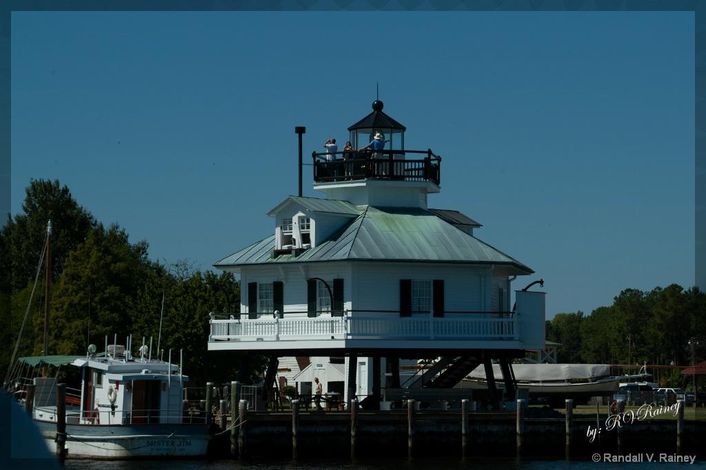 Hooper Island Lighthouse - ID: 15702370 © Randall V. Rainey
