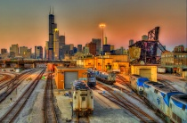 Chicago - Player with Railroads