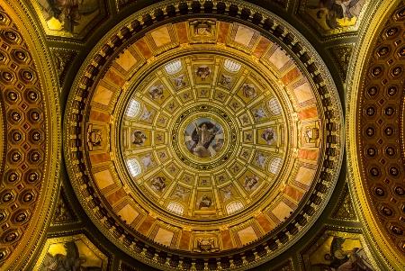 St. Stephen Basilica Budapest Hungary