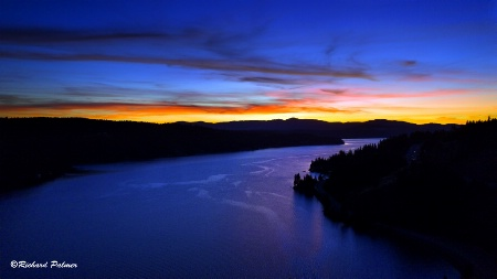 Coeur D Alene Sunset 9-25-18