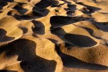Sunset Sand Shadows